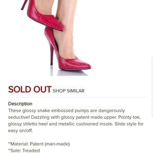 Miss me pointy toe pumps